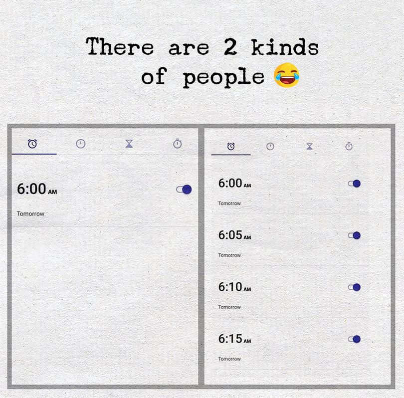 two kind of people