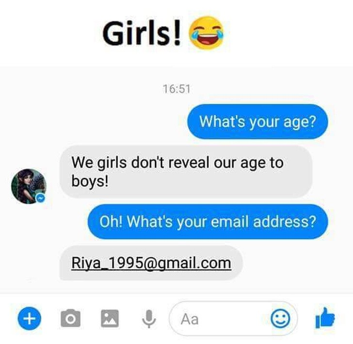 Girl's Age