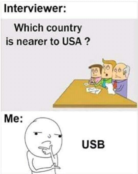 USB is a new country Now :D