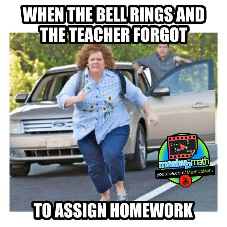 Teacher Forget to assign HomeWork