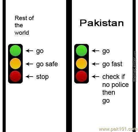Signals Rules in Pakistan