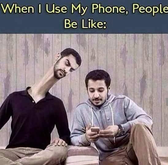 when i use phone