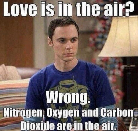Love is in the air?