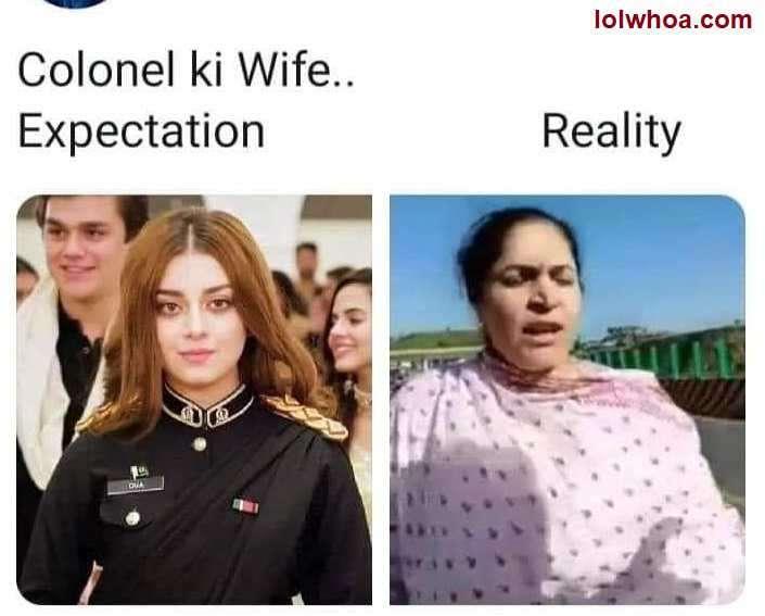 colonel ki wife