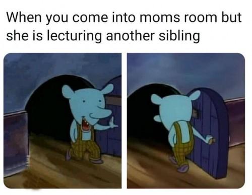 mom lecture