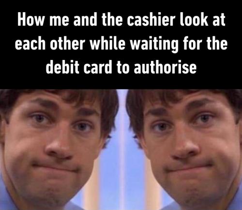 cashier Look