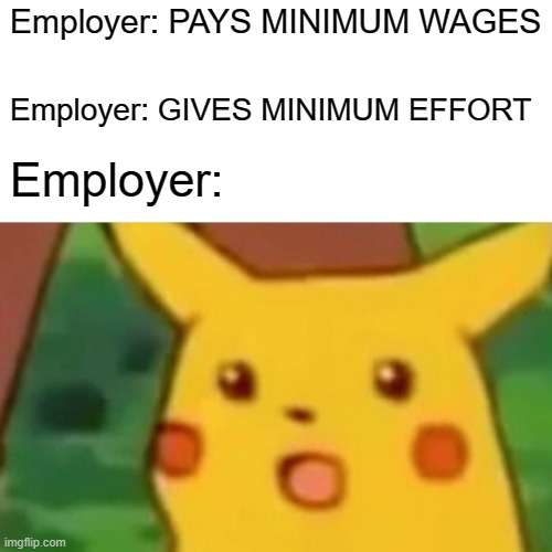 Pay minimum wages