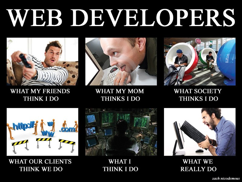 Developers reality