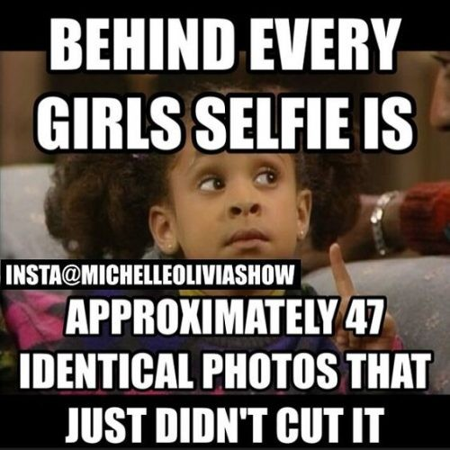 About Girls Selfies