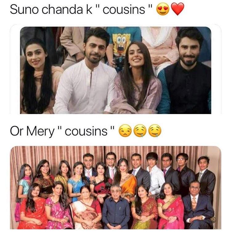 Cousins vs cousins